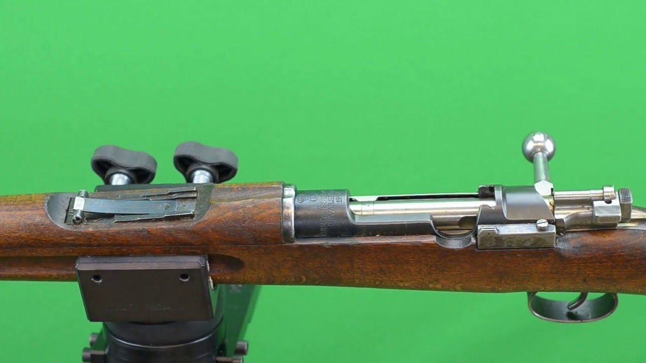 Swedish Mauser Smith-less Scope Mount Installation - Addley Precision