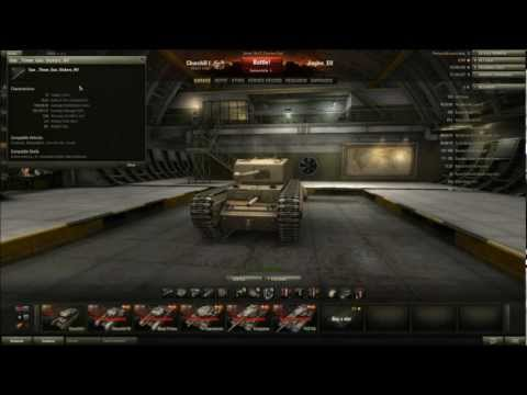 World of Tanks - Patch 8.1 Preview - Churchill Mk I Tier 5 Heavy Tank