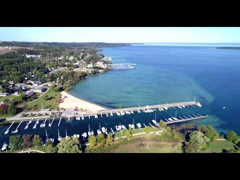 Suttons Bay Fly Over