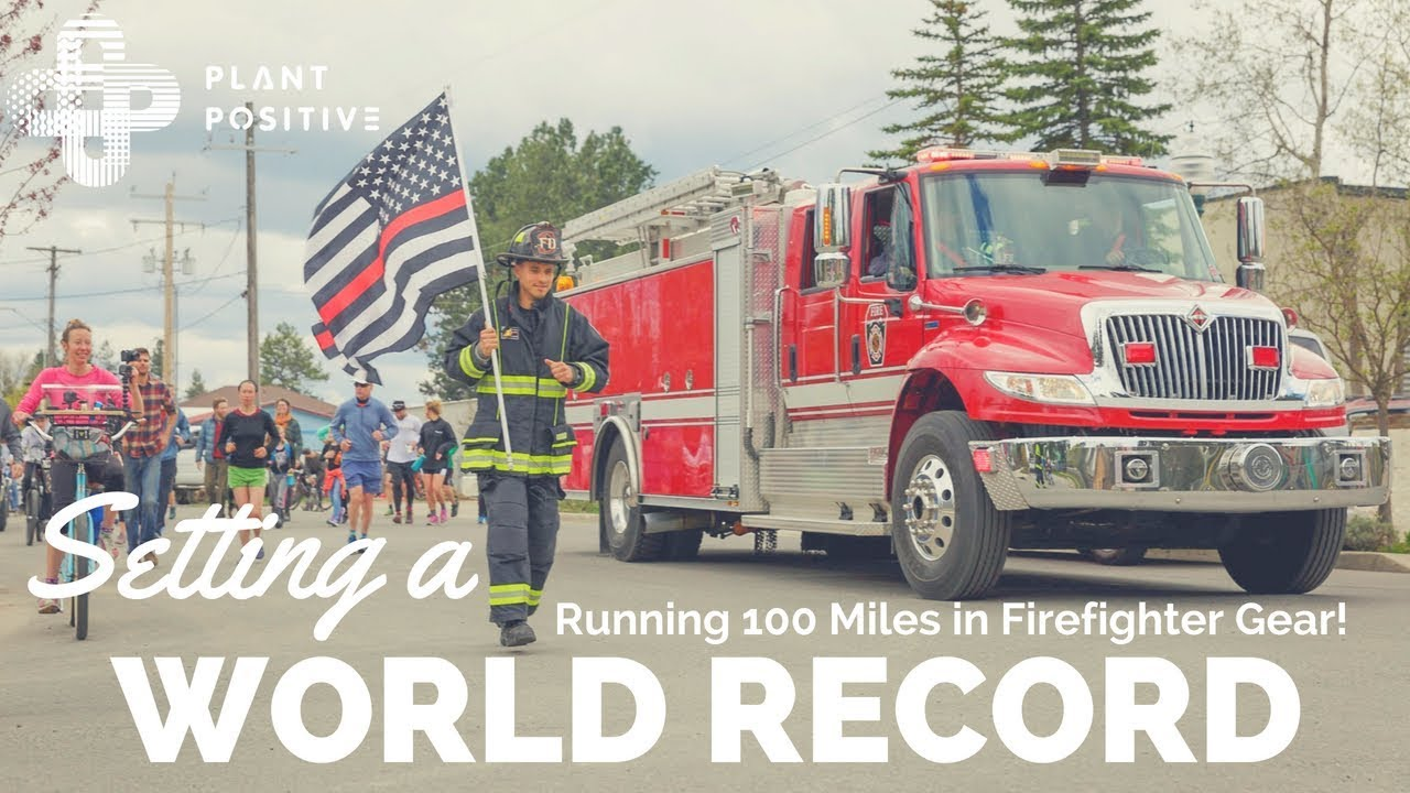 gwen is a wolrd record holder ultra running in firefighter gear with a purpose gwen le tutour videographer [ 1280 x 720 Pixel ]