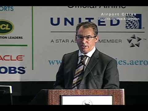 John Atkins, Airport City Director at Manchester Airport Group