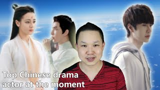 Cover images Wang Yibo Private Shushan College, Alan Yu eye injury, Top 10 Chinese dramas and actors 03.08.2020