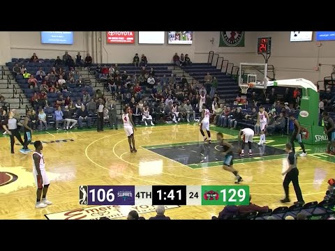 Jalen Jones (27 points) Game Highlights vs. Maine Red Claws