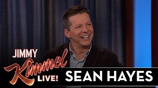 Sean Hayes Saw Jimmy Kimmel in the ER