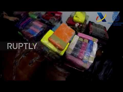 Spain: 380 kilos of cocaine recovered from boat in Algeciras port