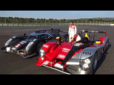 Comparison Audi R15 TDI, Audi R18 TDI   Timo Bernhard explains differences between R15 TDI and R16 T