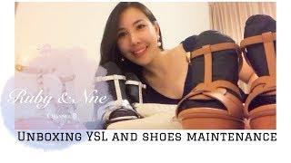 Designer SHOE HAUL Luxury Shoes Maintenance // 教你如何照顾奢饰品鞋子