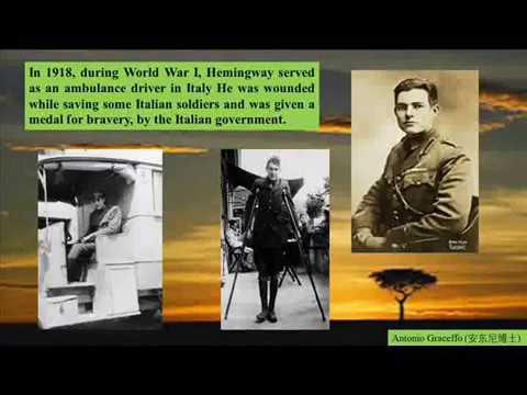 Ernest Hemingway Adventure Author