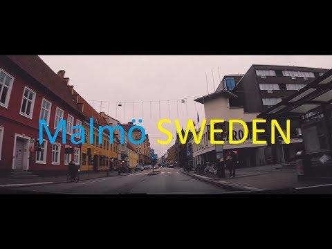 Malmö SWEDEN  Street view Gopro   CINEMATIC  