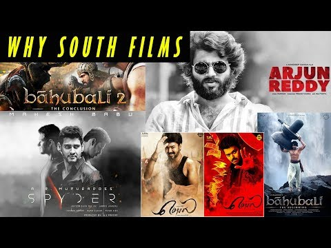 SOUTH FILMS vs BOLLYWOOD|| South Industry Wins at content