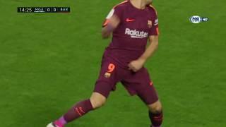 [LIGA] Malaga vs Barcellona 0-2 Gol e highlights HD - 10/03/18