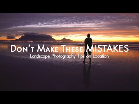 Landscape Photography at Sunset - Seascapes, Reflections and Table Mountain