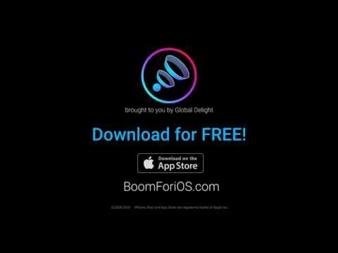 Boom for iOS - High Quality Music Player