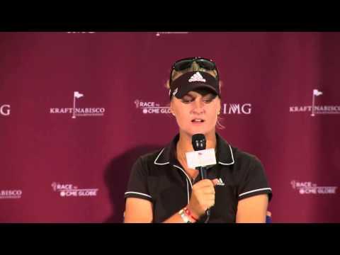Anna Nordqvist's Pre-Tournament Interview at the Kraft Nabisco Championship