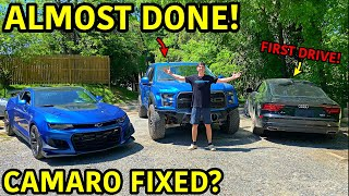 Rebuilding A Wrecked 2019 Ford Raptor Part 15