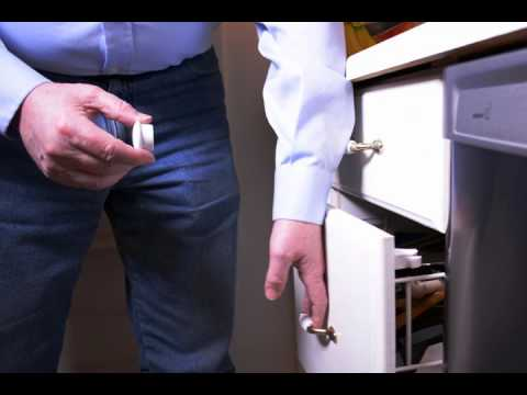 Eco-Baby Magnetic Cabinet Locks Installation