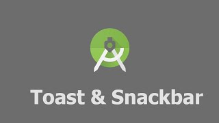 Make Toast and Snackbar in Kotlin - Android Studio Tutorial