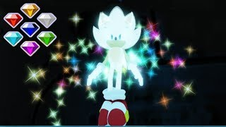 SONIC UNIVERSE RP *All Chaos Emerald Locations* Roblox
