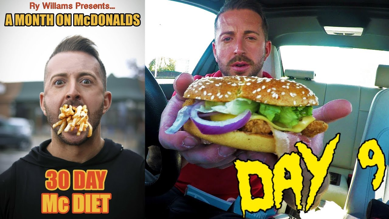 Only Eating Mcdonald S For 30 Days Losing Weight Day 9 Downsize Me Youtube