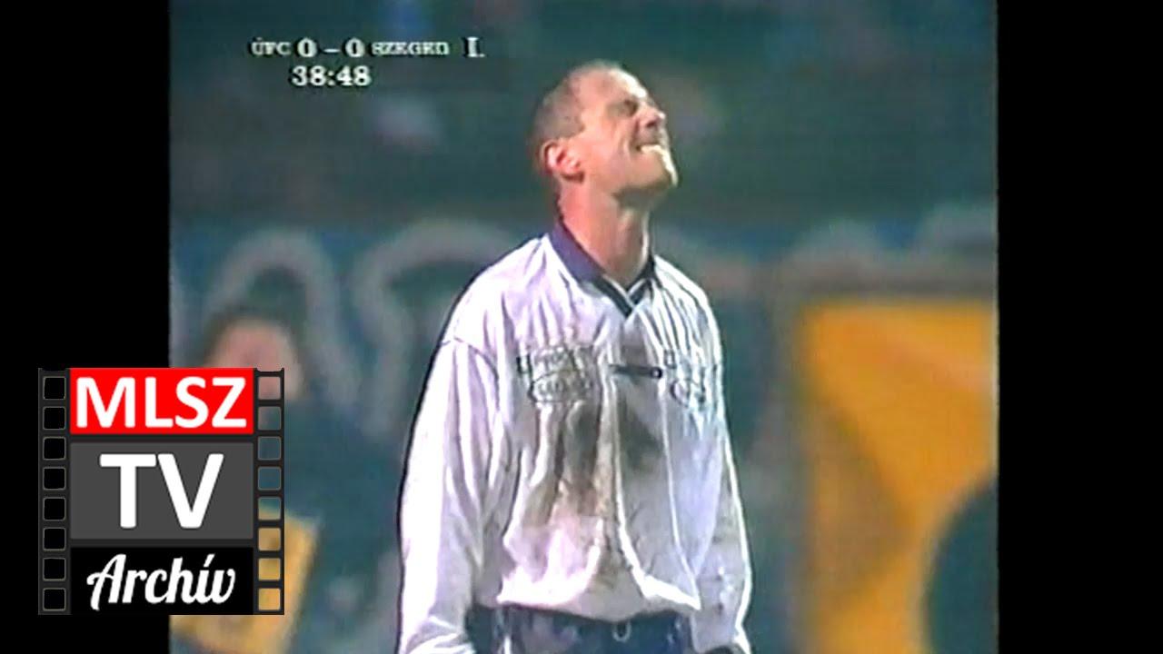 Újpest-Szeged | 1-0 | 1999. 12. 03 | MLSZ TV Archív
