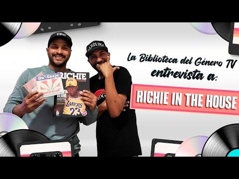 La Biblioteca del Genero (Daryk) entrevista - Richie In The House