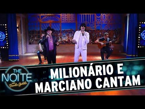 The Noite (09/05/16) - Milionário e Marciano tocam sertanejão no palco