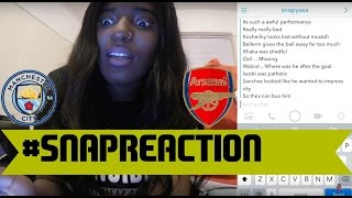snapreaction man city 2 1 arsenal arsenal title hopes are done fam