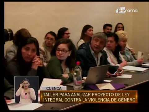 Taller para analizar proyecto de ley integral contra la violencia de género