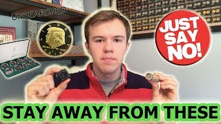 AVOID THESE 10 COIN COLLECTING ITEMS - PROCEED WITH CAUTION