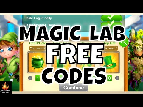 FREE REWARDS Castle Clash Magic Lab Codes