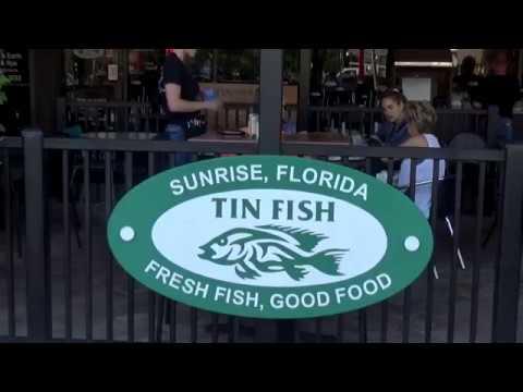 The Tin Fish-Food, Sunrise, Florida