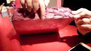 comment décorer une boite à chaussures