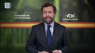 """Espinosa de los Monteros sobre el Pacto de Toledo: """"VOX no será cómplice de este engaño"""