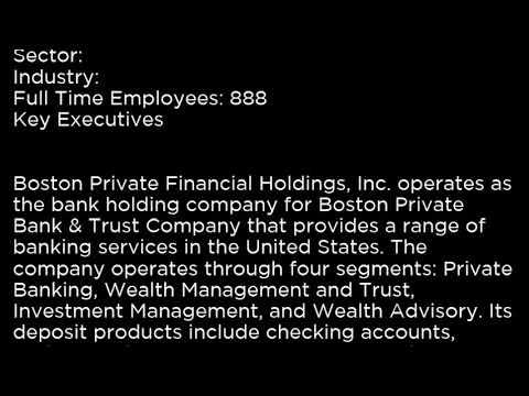 BPFHP Boston Private Financial Holdings, Inc  BPFHP buy or sell Buffett read basic