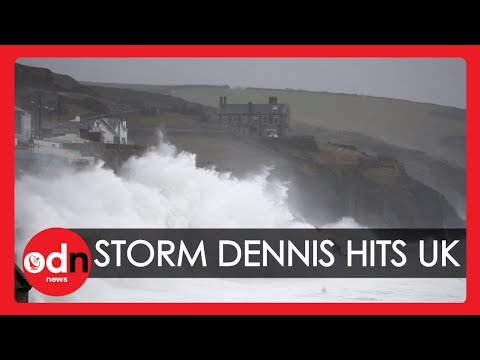 Storm Dennis Batters the UK with Flooding, Rain and Heavy Winds