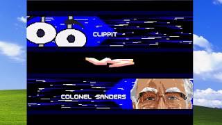 KJ MUGEN Battles - Clippy vs. Colonel Sanders