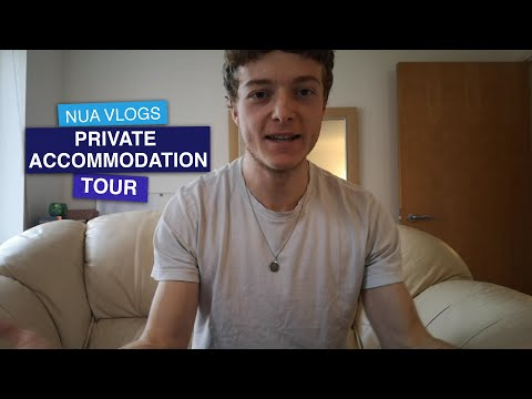 1 bedroom student flat with Chris | Private accommodation vlog