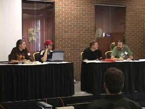 Fandemonium Web Comics Panel