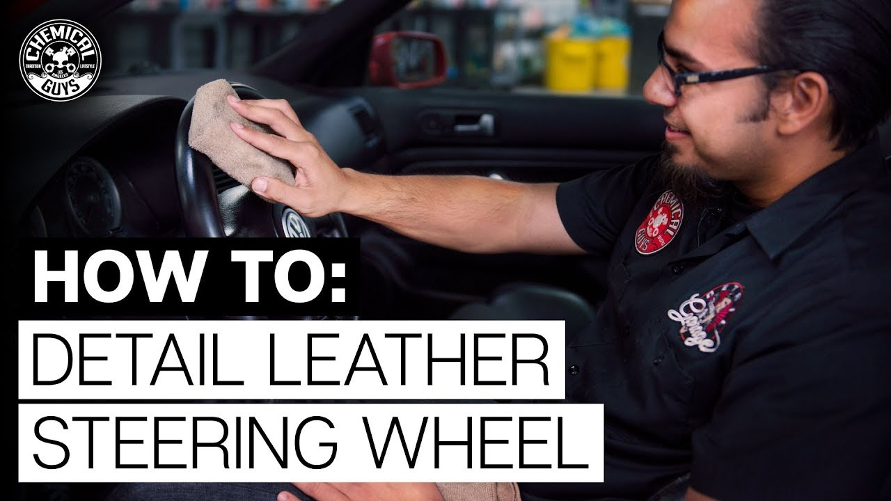 How To Clean And Protect Leather Car Steering Wheel Chemical Guys Youtube