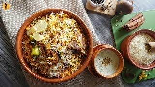 Desi Chicken Biryani Recipe By Food Fusion