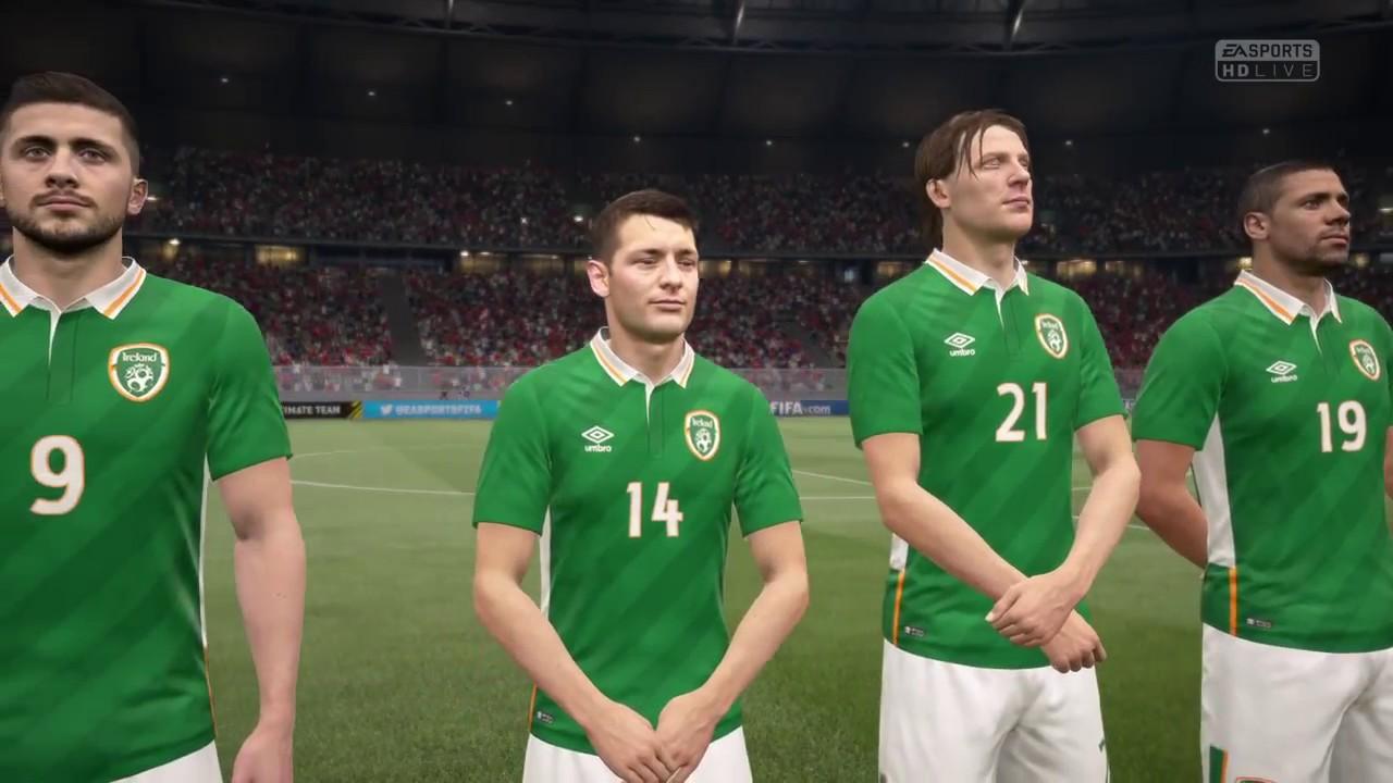 Fifa 17 Austria Vs Republic Of Ireland Gameplay World Cup Qualifying 2018 You