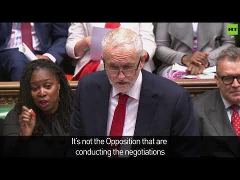 Corbyn throws shade at Theresa May during PMQs