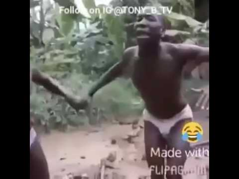 Africans Dance To Bruk Off Ya Back 😂