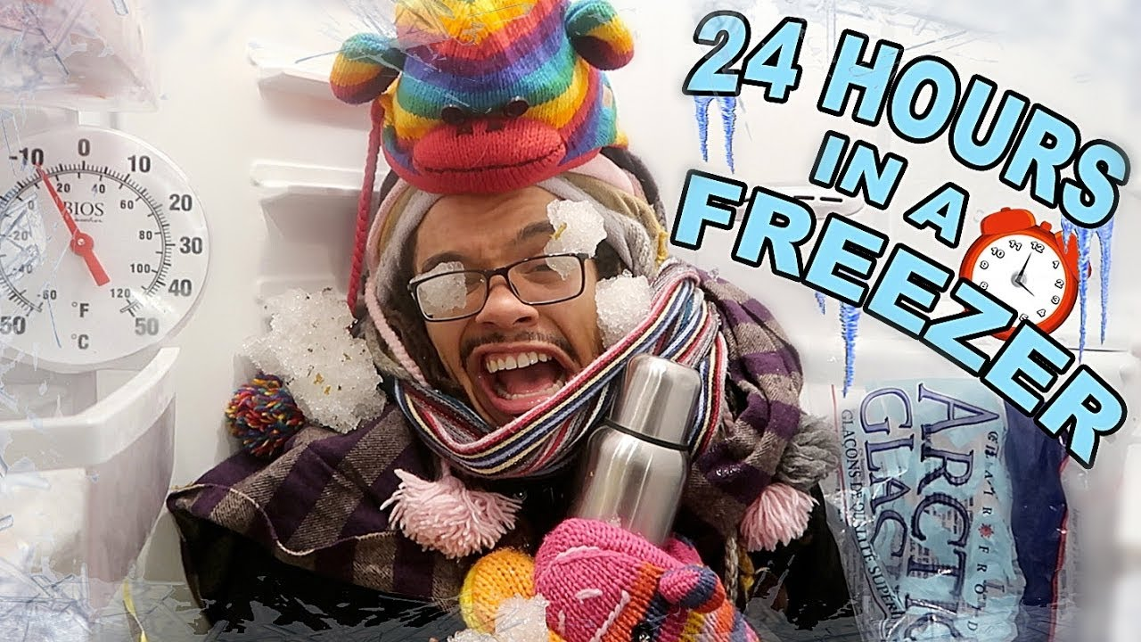 Download 24 HOURS IN A FREEZER (COULDN'T BREATHE) GONE WRONG!!