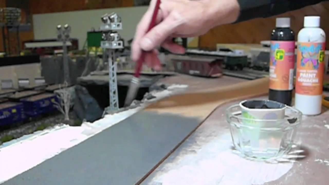 Fabrication D Un Decor Pour Diorama