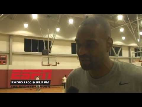 UNLV Coach Stacey Augmon talks with Seat Williams