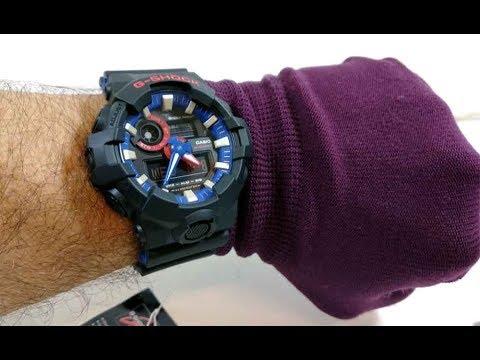 e578c588619 Relógio G-SHOCK GA-700LT-1ADR - NLTime Relógios - YouTube
