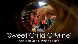39 Sweet Child O Mine 39 Solo by Guns