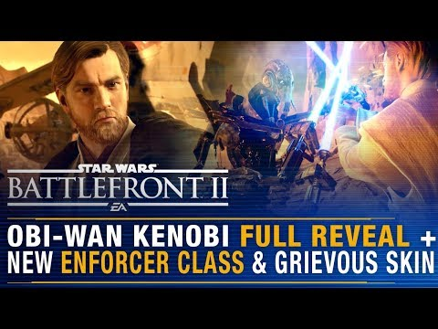 OBI-WAN KENOBI FULL Reveal + Grievous Bug Fixes, Armored Officers/Riot Enforcers? Battlefront Update