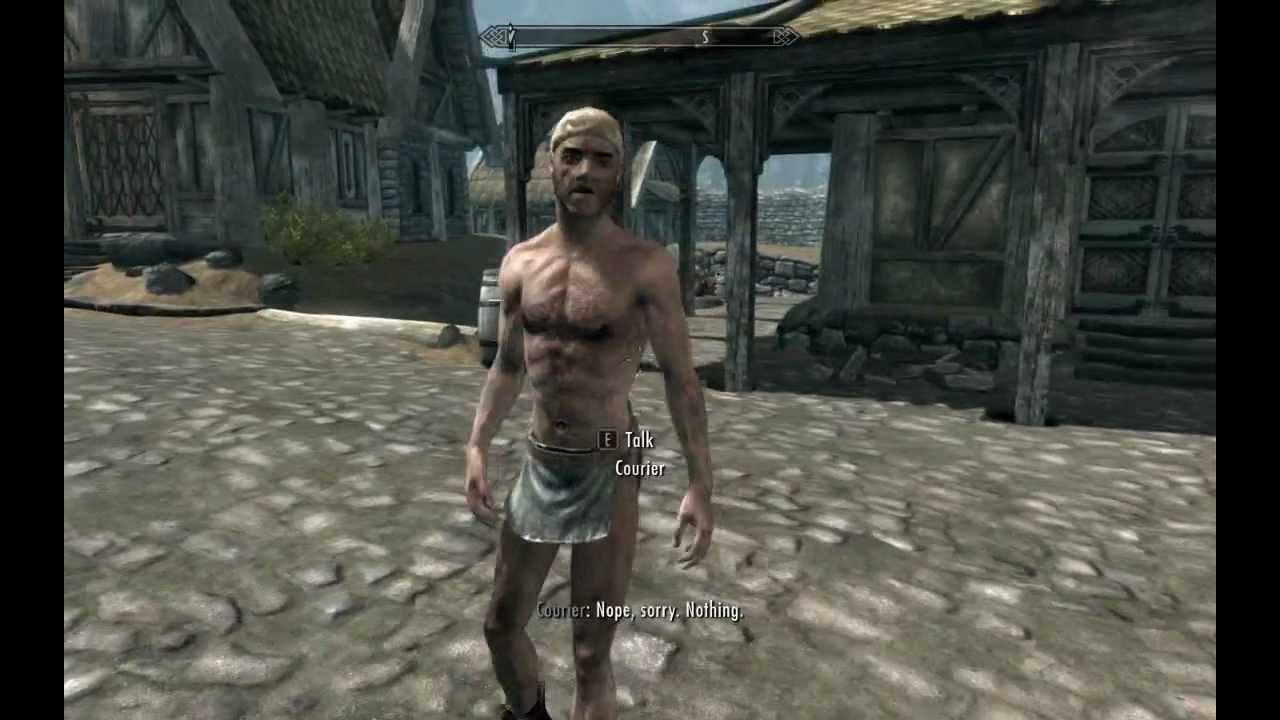 Skyrim Nude Male